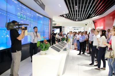 Delegates of BRICS Communication Ministers Conference visited Hikvision