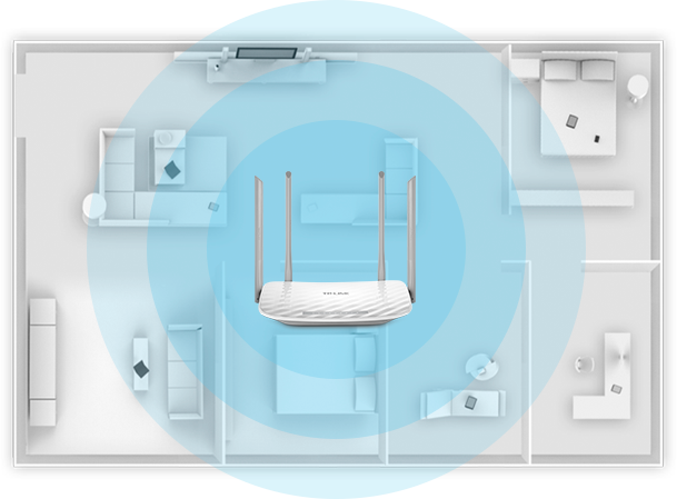 AC900 Wireless Dual Band Router Archer C25