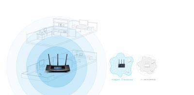 AC1900 Touch Screen Wi-Fi Gigabit Router
